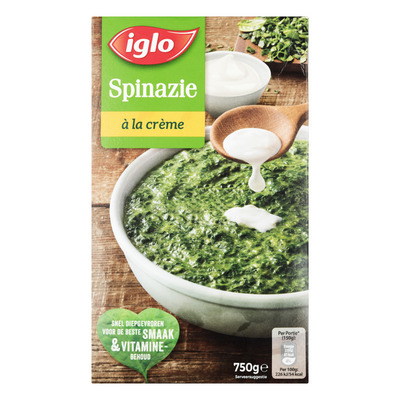 Iglo Spinazie à la crème deelblokjes
