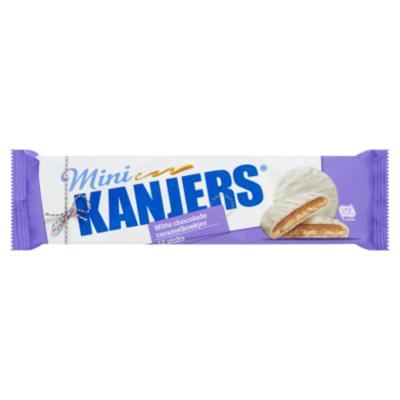 Kanjers Mini Chocolade Caramel Koekjes Wit