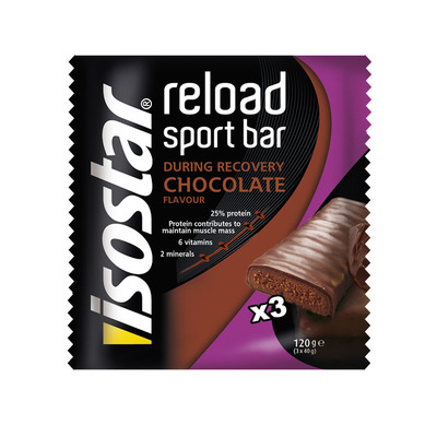 Isostar After sport recovery bar chocolate