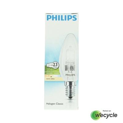 Philips Halogen Classic kaarslamp E14/18W (23W)
