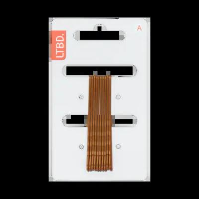 LTBD Schuifspelden Bruin 7 cm