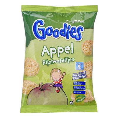 Organix Goodies rijstwafeltjes appel 8+ mnd