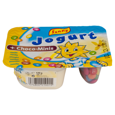 Sunny Yoghurt Yoghurt vanille choco dragees