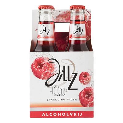 Jillz Raspberry 0.0% fles