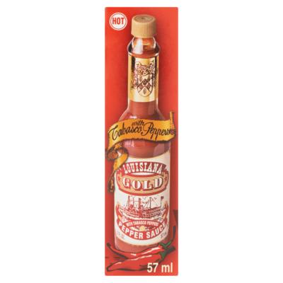 Louisiana Gold red peper sauce
