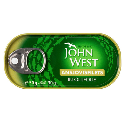 John West Ansjovis in olijfolie