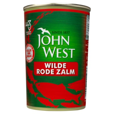 John West MSC wilde rode zalm 418 gram