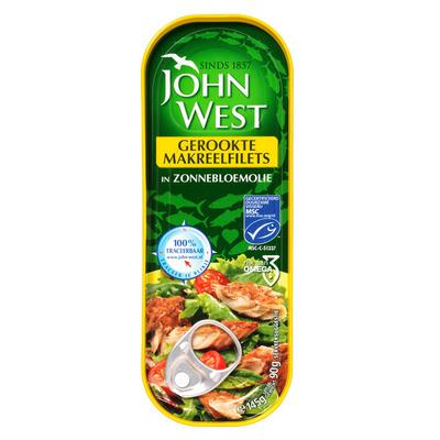 John West Gerookte makreelfilets