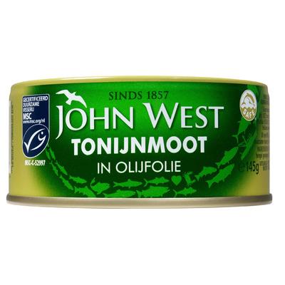 John West Tonijnmoot in olijfolie MSC