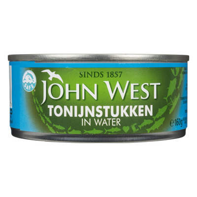 John West Tonijnstukken in water