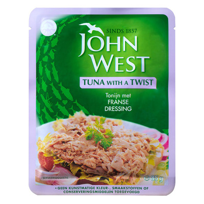 John West Tuna with a twist French dressing