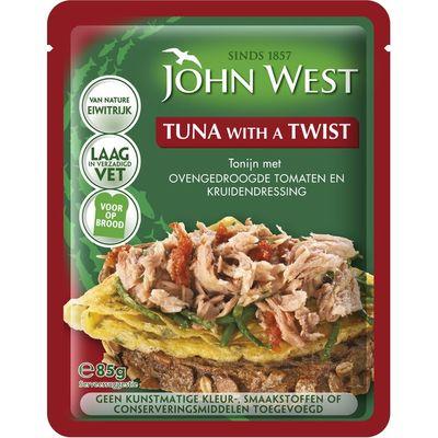 John West Tuna with a twist gedroogde tomaat
