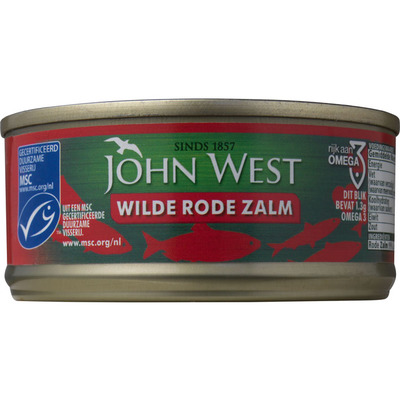 John West Wilde rode zalm