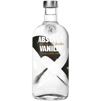 Absolut Vanilia flavored vodka