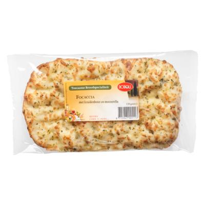 Boboli Focaccia kruidenboter en mozzarella