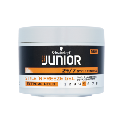 Junior Power Styling Style 'n Freeze Gel Extreme Hold