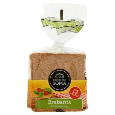 Soma Brabants Roggebrood 200 g