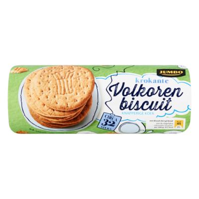 Jumbo Krokante Volkoren Biscuit