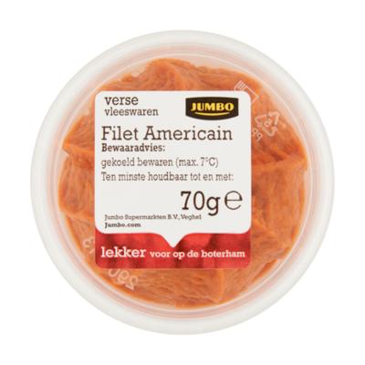 Huismerk Verse Vleeswaren Filet Americain