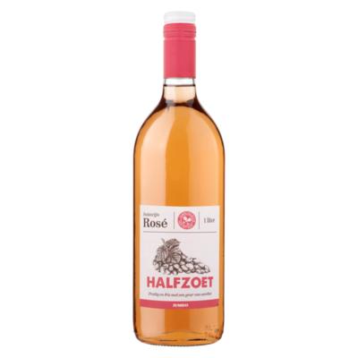 Huismerk Huiswijn Rosé Halfzoet