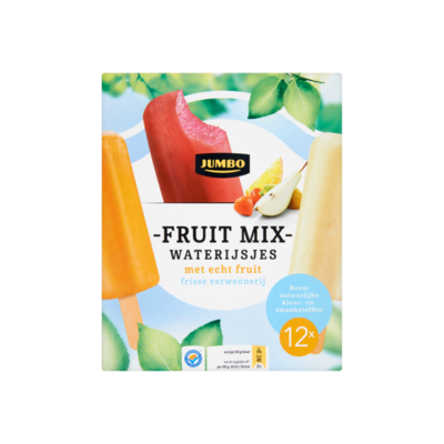 Huismerk Fruit Mix Waterijsjes met Echt Fruit