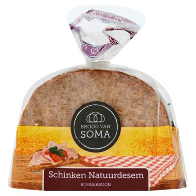 Soma Schinken Natuurdesem Roggebrood 400 g