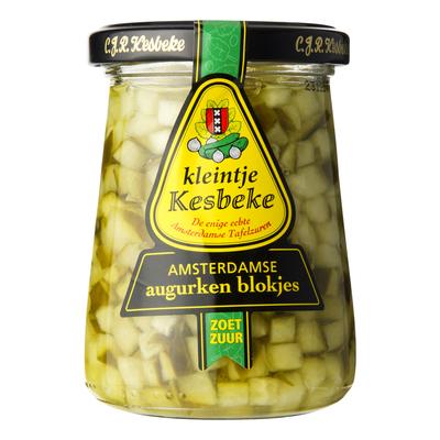 Kesbeke Kleintje Amsterdamse augurken blokjes