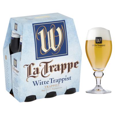 La Trappe Witte Trappist Flessen