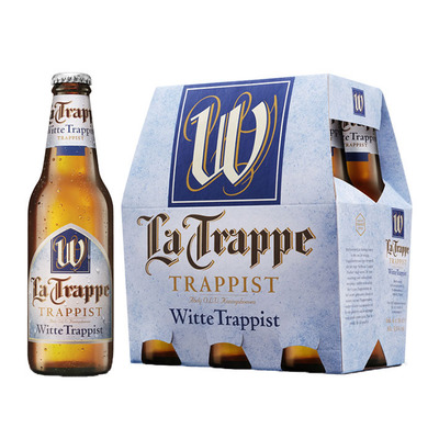 La Trappe Witte trappist fles speciaal bier