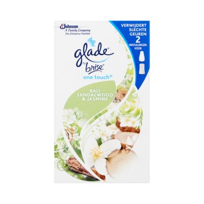 Glade by Brise One Touch Bali Sandalwood & Jasmine Navullingen