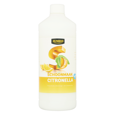 Huismerk Schoonmaak Citronella