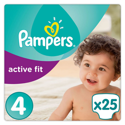 Pampers Active fit luiers maat 4 (maxi) 7-18 kg