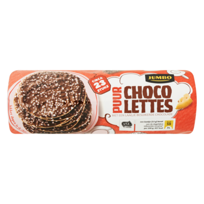 Jumbo Chocolettes Puur