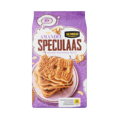 Jumbo Amandel Speculaas