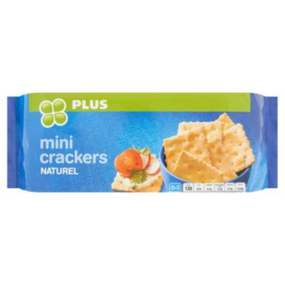 Huismerk Mini crackers naturel