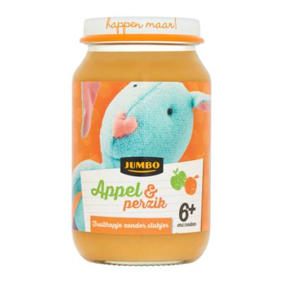 Huismerk Appel & Perzik 6+ Maanden
