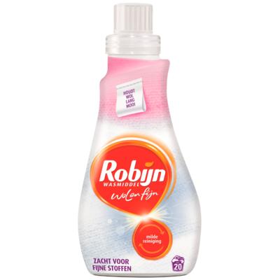 Robijn Vloeibaar wasmiddel wol & fijn 20 wasbeurten
