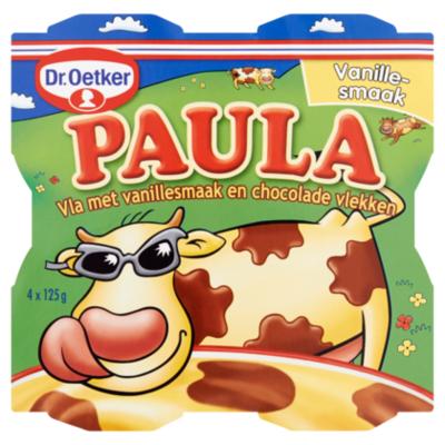 Dr. Oetker Paula vanillevla met chocoladevlekken