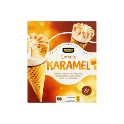 Huismerk Cornets Karamel