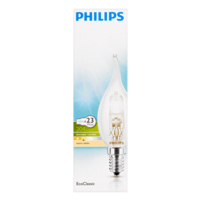 Philips EcoClassic Lamp Warm White 18W E
