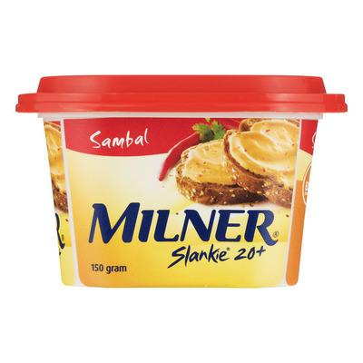 Milner Slankie smeerkaas sambal 20+