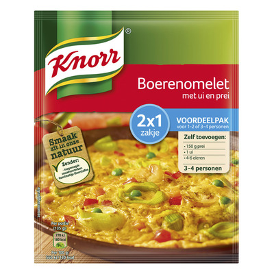 Knorr Mix boerenomelet