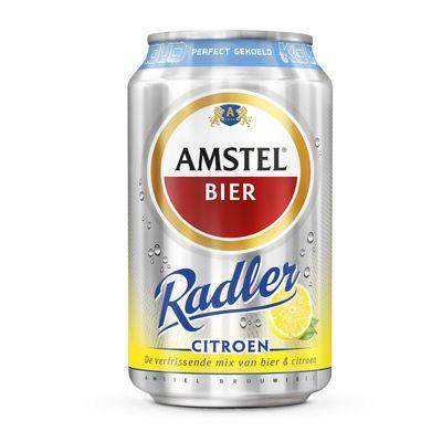 Amstel Radler Citroen Gekoeld Blik