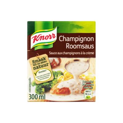 Knorr Saus Champignon Roomsaus