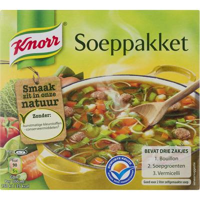 Knorr Soep soeppakket