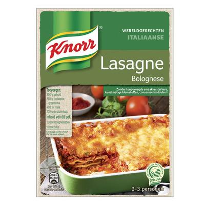 Knorr Wereldgerechten lasagne