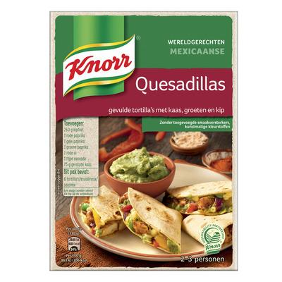 Knorr Wereldgerechten quesadillas