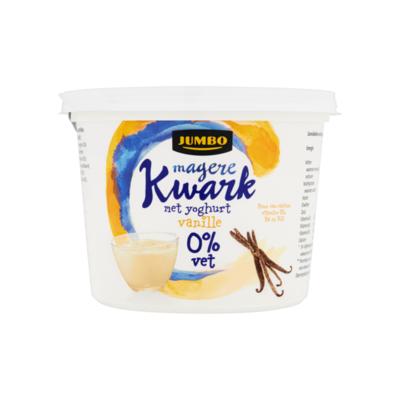Huismerk Magere Kwark met Yoghurt Vanille 0% Vet