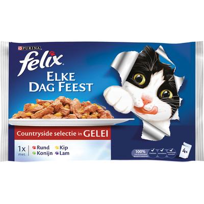Felix Elke dag feest malse reepjes vlees
