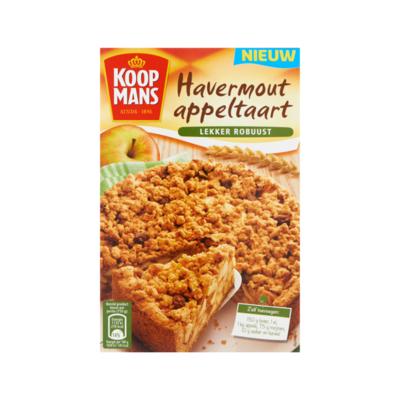 Koopmans Havermout Appeltaart